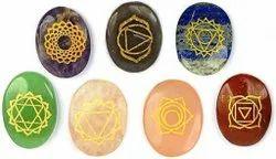 Oval Reiki Healing Crystals Reiki Sets