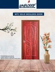 AMARDEEP Standard WPC SOLID MOULDED DOOR, For House, Size/Dimension: 84x36