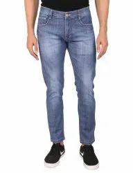 Men Comfort Fit Blue Denim Jean