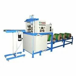 Paper Double Die Vertical Hydraulic Fully Automatic Thali Making