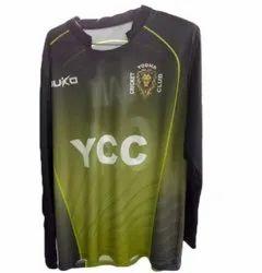 Large Cotton Full Sleeve Sport T- Shirt