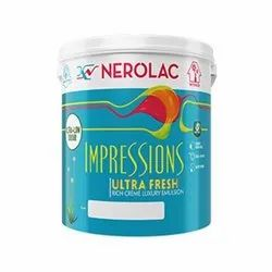 High Gloss Nerolac Impressions Ideas Texture paint, For Interior Walls, Packaging Size: 1 Ltr