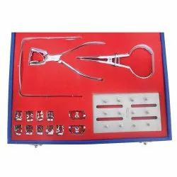 API Dental Rubber Dam Kit With 11 Clamps