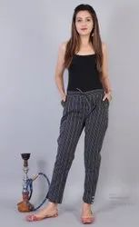 Casual Wear Printed Hand Loom Cotton Pant