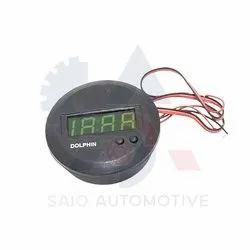 Round Dashboard Digital Clock Watch For Suzuki Samurai SJ410 SJ413 SJ419 Sierra Santana
