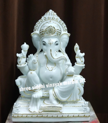 God Marble Statue Ganesha
