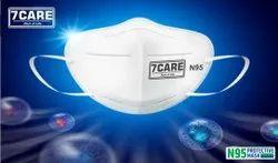 7 CARE N95 Head Loop Face Mask