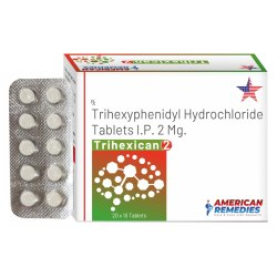 2 mg Trihexyphenidyl Hydrochloride Tablets
