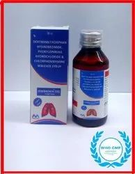 Embroxia DX Cough Syrup, Packaging Size: 100 Ml
