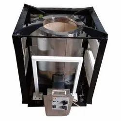 Stainless Steel 14 Kg Agneekaa Biomass Pellet Stove, For Industrial