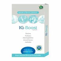 La Nutraceuticals IG Boost Capsules -Pure Colostrum Vegan