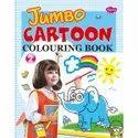 Jumbo Cartoon Colouring books 2 Different Books