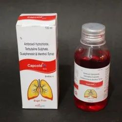 Ambroxol Hydrochloride Terbutaline Sulphate Guaiphenesin and Menthol Syrup