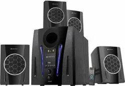 Zebronics ZEB-BT2750RUF 60 W Bluetooth Home Theatre  (Black, 4.1 Channel)