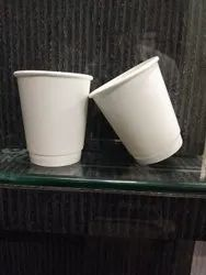 8 ounce double wall white cup