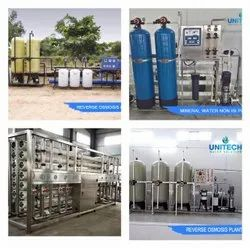3000 LPH Drinking Mineral Water Plant