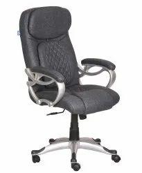 High Back Leatherette Office Chair Black (VJ-2037)
