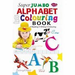 SUPER JUMBO COLOURING BOOKS 16 Different Books