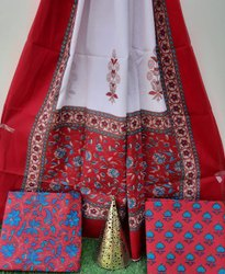 Aaditri Cotton Suit with Dupatta