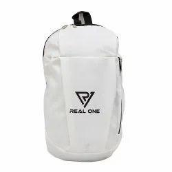 WHITE Polyurethane GLS M-22 Marathon Bag With Adjustable Strap, For SPORTS, 100 Gm