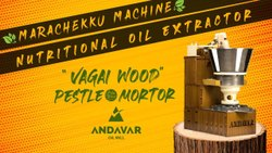 Wooden Cold Press Marachekku Oil Machine