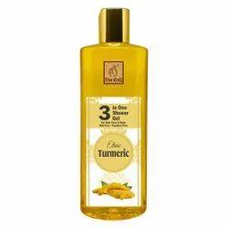 Transparent 3 In 1 Organic Turmeric Shower Gel - Body Wash, Bottle, Packaging Size: 300ml