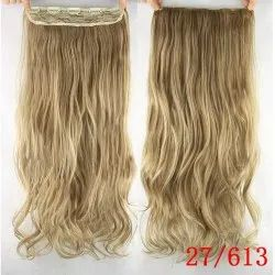 Highlighted White With Gold Color 15 Model Closure And Frontal Hair For Women And Girl Cheveux Meche