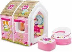 Intex Princess Play House With Air Furniture