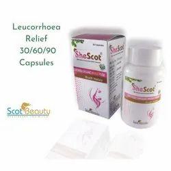 Leucorrhoea Relief Capsules