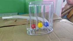 Three ball Respirometer respiratory exerciser
