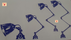 Round Machine Light, Base Type: Metal