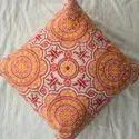 Embroidery Decorative Cotton cushion Cover