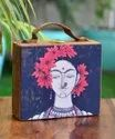 MDF Printed Suitcase Style Clutches