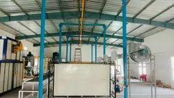 NGVT Batch Type Powder Coating Plant, Automation Grade: Automatic