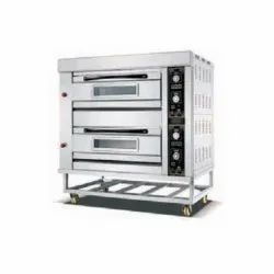 Double Gas Baking Oven 2 Deck 4 Tray
