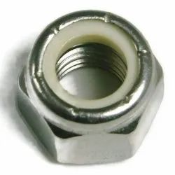 CF Stainless Steel SS Hex Nuts, Size: M10