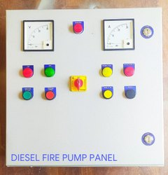 Diesel Engine Fire Pump Control Panel