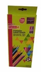 Wood Camlin Triangular Colour Pencil, For Drawing