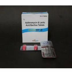 Azithromycin and Lactic Acid Bacillus Tablets