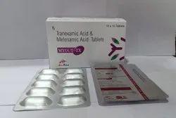 Mefenamic 250 Mg +Tranexamic 500 Mg Tablet