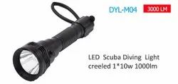 Under Water LED Diving Flashlight - DYL M04