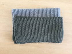 Gots Certified 100% Organic Cotton Knitted Dish Towel Set
