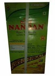Nandan Soyabean Nepal origin soyabin oil, Packaging Size: 15litre, Speciality: Cholesterol Free