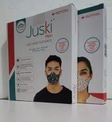 Juski Reusable Anti Microbal Protective Mask, Number of Layers: 2 Layers