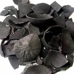 Solid Coconut Shell Charcoal, For Burning, Packaging Size: 25 Kg