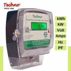 TECHNO DOMESTIC USE SINGLE PHASE ELECTRONIC ENERGY METER, For Residential, Model Name/Number: TMCB01M