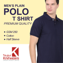 Plain Polo T-Shirt Premium Quality