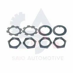 Front Axle Hub Check Nut And Washer Set ( Lh&Rh) For Suzuki Samurai Sj410 Sj413 Sj419 Sierra Santana