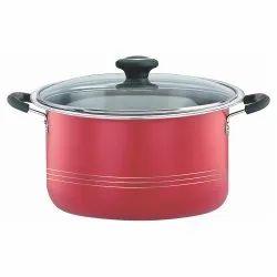 Aluminium Non Stick Casserole, For Kitchen, Capacity: 4.5 Litre
