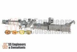 Root Vegetables Washer Peeler & Polishing Production Line